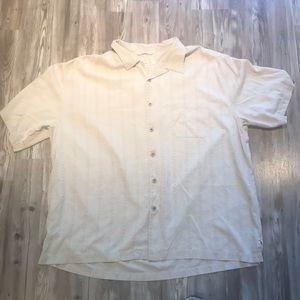 Silk Pocket Button Down Shirt